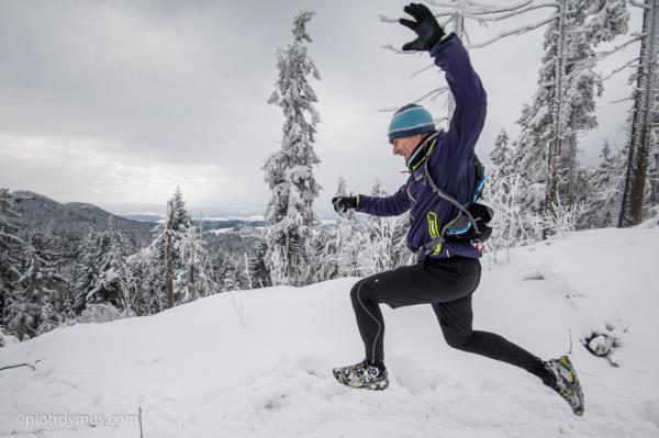 Zimowy Półmaraton Gór Stołowych w Pasterce (31.1.2015)