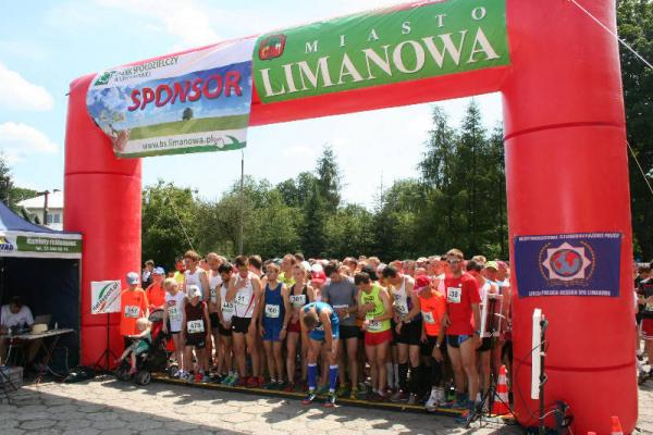 6. Bieg Górski Limanowa Forrest Run (6.07.2014)