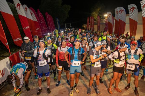 Start Biegu 7 Dolin 100 km w Piwnicznej-Zdroju