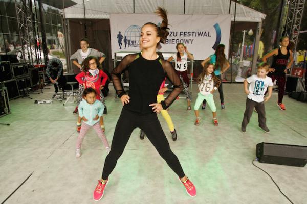 6. PZU Festiwal Biegowy - pokazy i koncerty na scenie