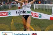 Emelia Gorecka, zwyciężczyni z Belgradu