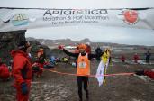 Bartosz Mazerski wygrał Antarctica Marathon