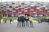 35. PZU Maraton Warszawski - meta była zlokalizowana na Stadionie Narodowym