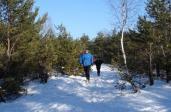 Zimowe Biegi Górskie w Falenicy