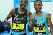 Mo Farah i Kenenisa Bekele