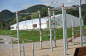 Imponujące Miasteczko Biegowe na Nakle w Piwnicznej-Zdroju już prawie gotowe