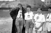 Halina Konopacka (pierwsza od lewej) / Fot. NAC