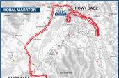 Koral Maraton - królewski dystans ze startem w królewskim mieście [MAPA]