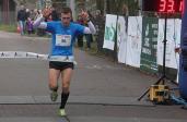 Przemysław Dąbrowski, zwycięzca Drugiej Dychy do Maratonu Lubelskiego