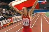 Marcin Urbaś podczas ME w Wiedniu w 2002 r. /Fot. YouTube
