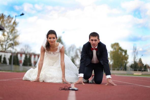 Matylda i Piotr, czyli biegowe małżeństwo